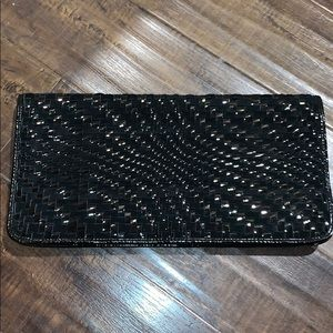 Cole Haan Woven Large Clutch